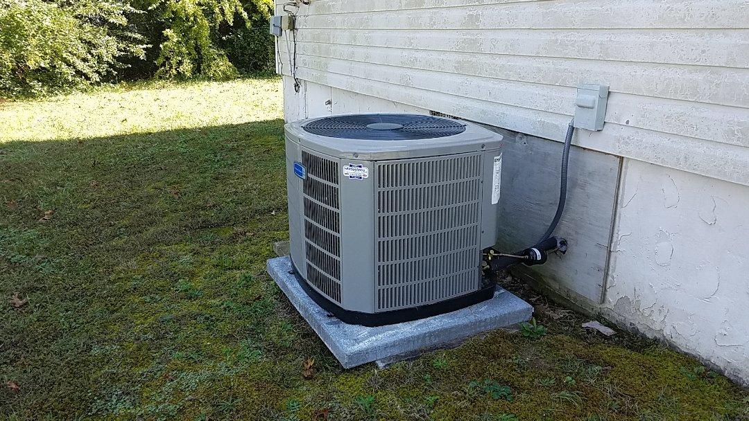 Ooltewah, TN - Service call. Performed repair on American Standard heat pump