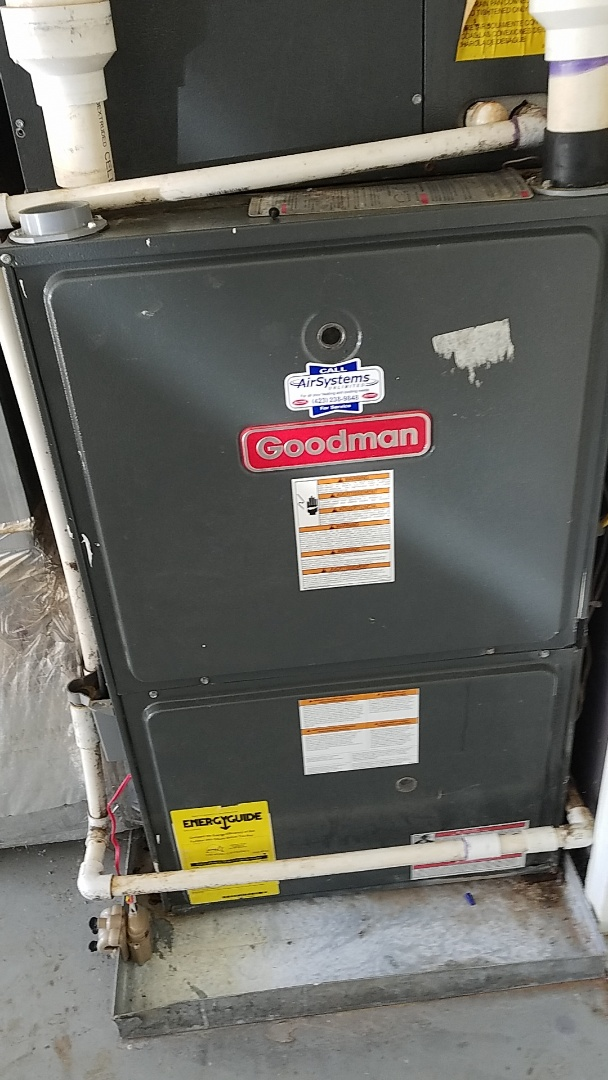 Chattanooga, TN - Service call.  Performed repair on Goodman furnace.