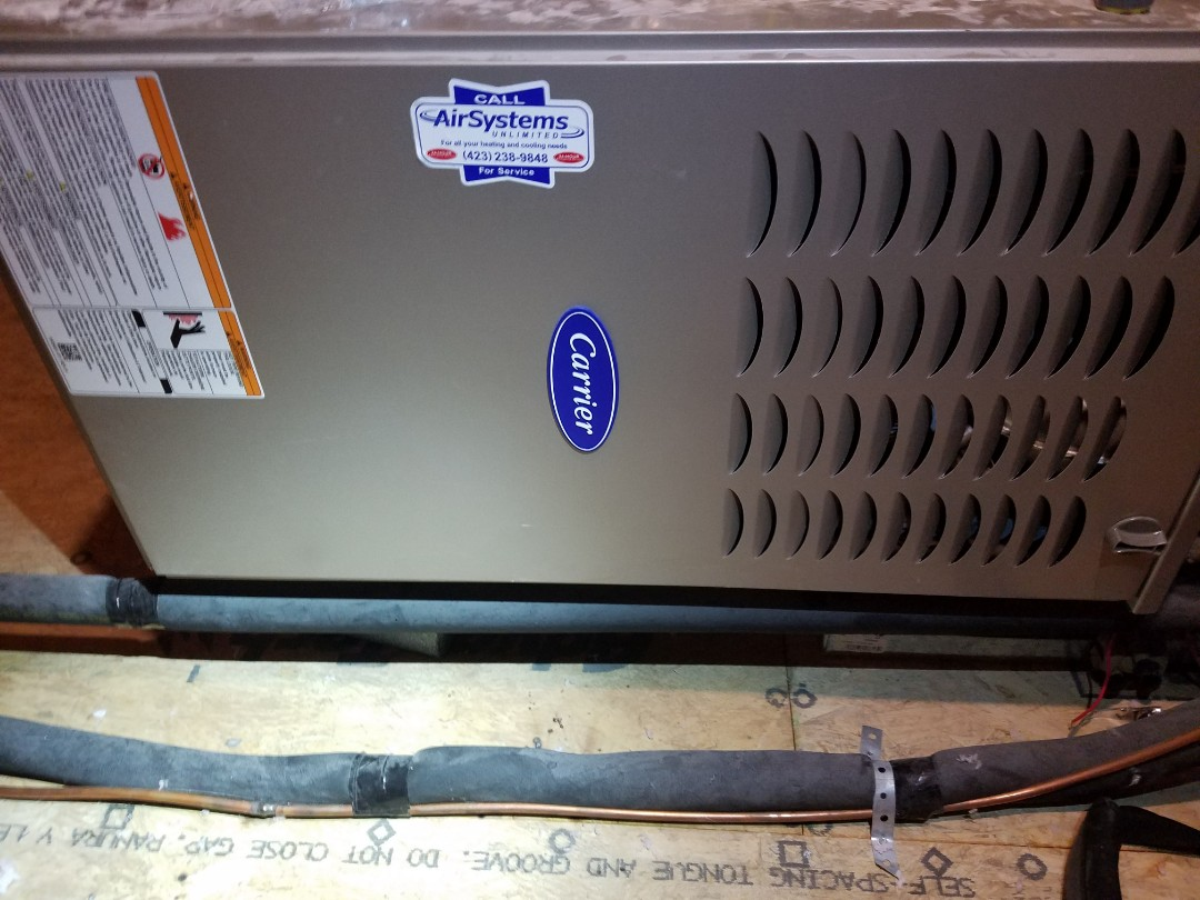 Chattanooga, TN - Service call. Performed repair on Carrier furnace