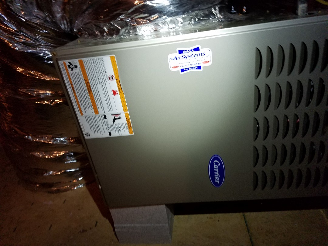 Chattanooga, TN - Maintenance call. Performed maintenance on Carrier furnace