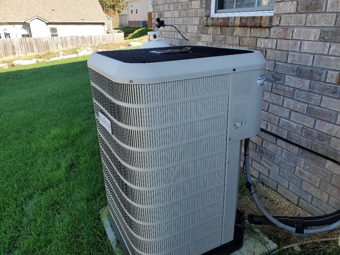 Ooltewah, TN - Service call. Performed repair Nutone heat pump.