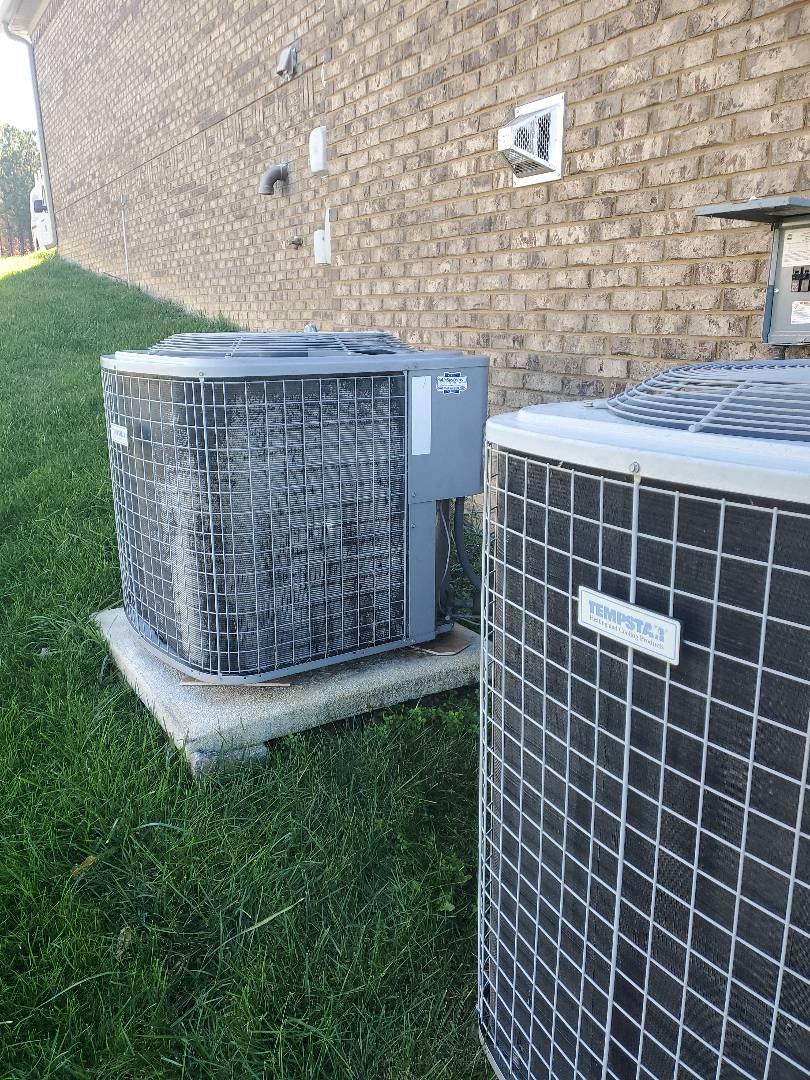 Soddy-Daisy, TN - Maintenance call. Performed maintenance on Tempstar heat pump