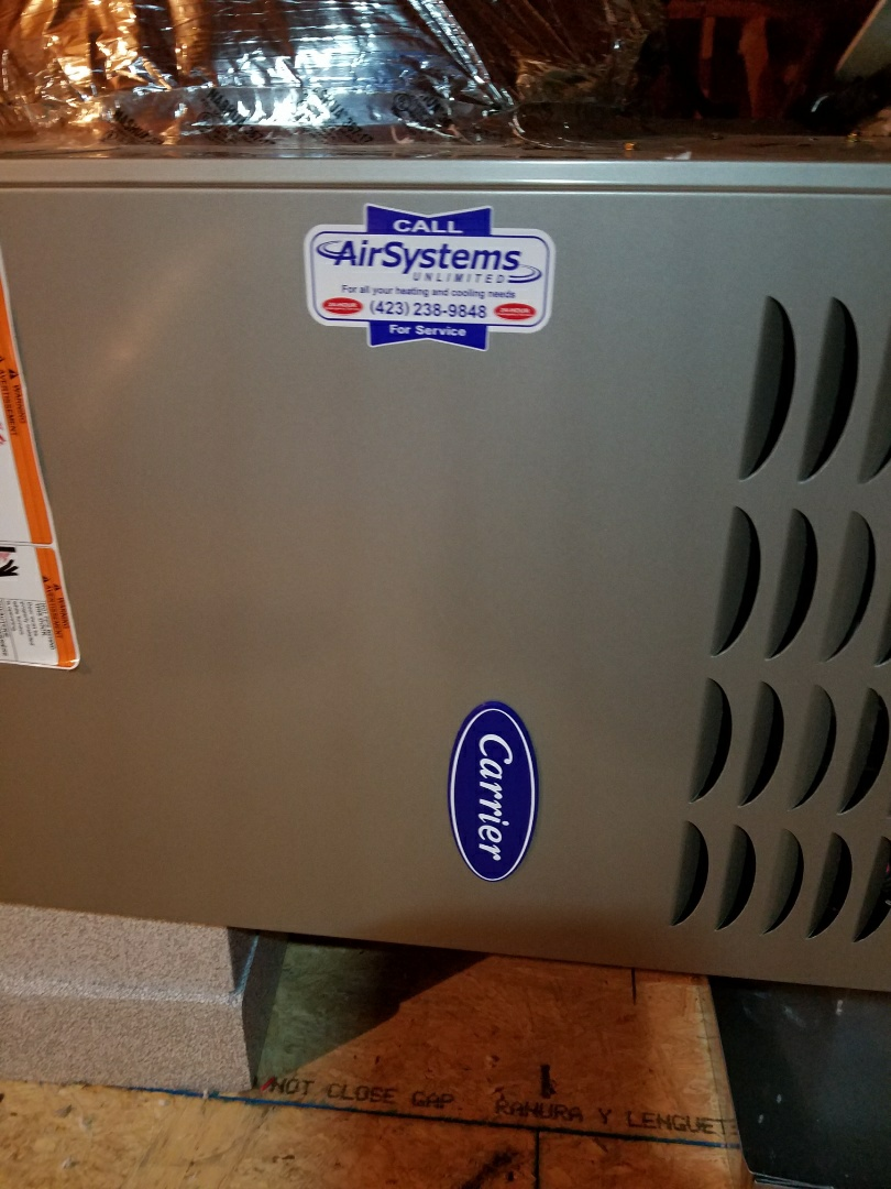 Chattanooga, TN - Maintenance call.  Performed maintenance on Carrier furnace.