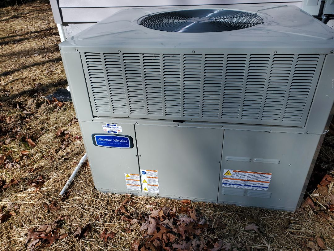 Ooltewah, TN - Service call. Performed repair on American Standard heat pump.