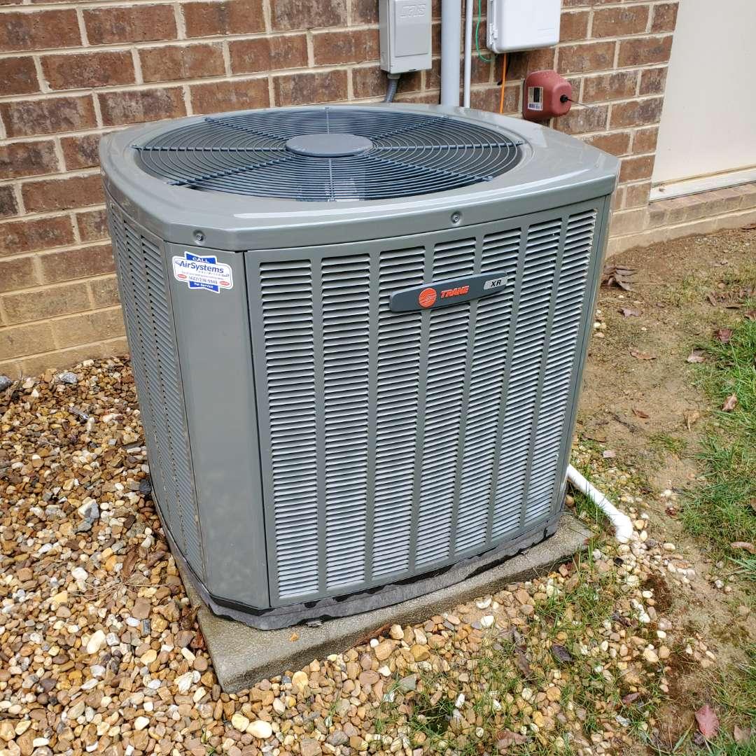 Cleveland, TN - Service call. Performed repair on Trane heat pump condenser.