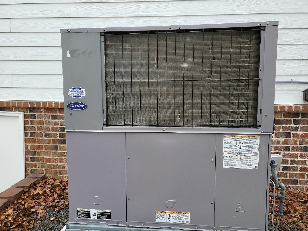 Ooltewah, TN - Service call. Performed repair on Carrier furnace.