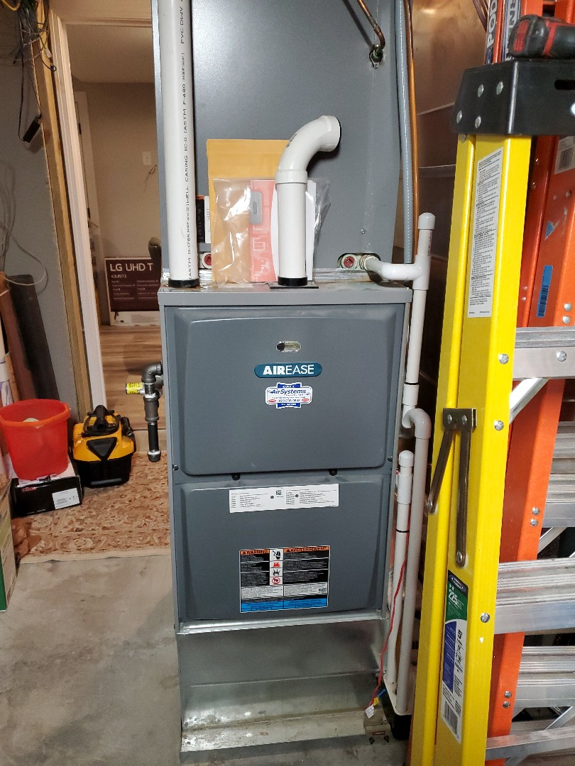 Cleveland, TN - Maintenance Call. Performed maintenance on Aire Ease furnace.