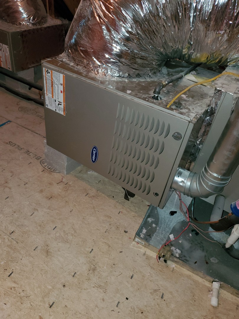 Cleveland, TN - Maintenance Call. Performed maintenance on Carrier furnace.