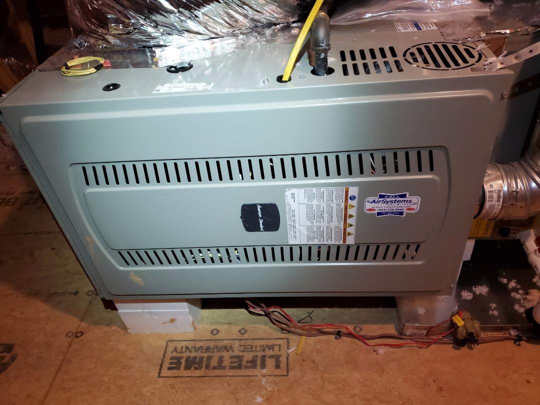 Apison, TN - Service call. Performed repair on American Standard furnace.
