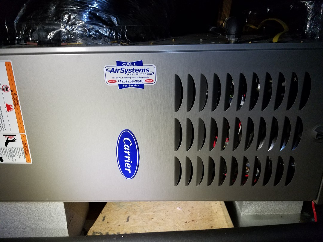 Signal Mountain, TN - Service call. Performed repair on Carrier furnace.