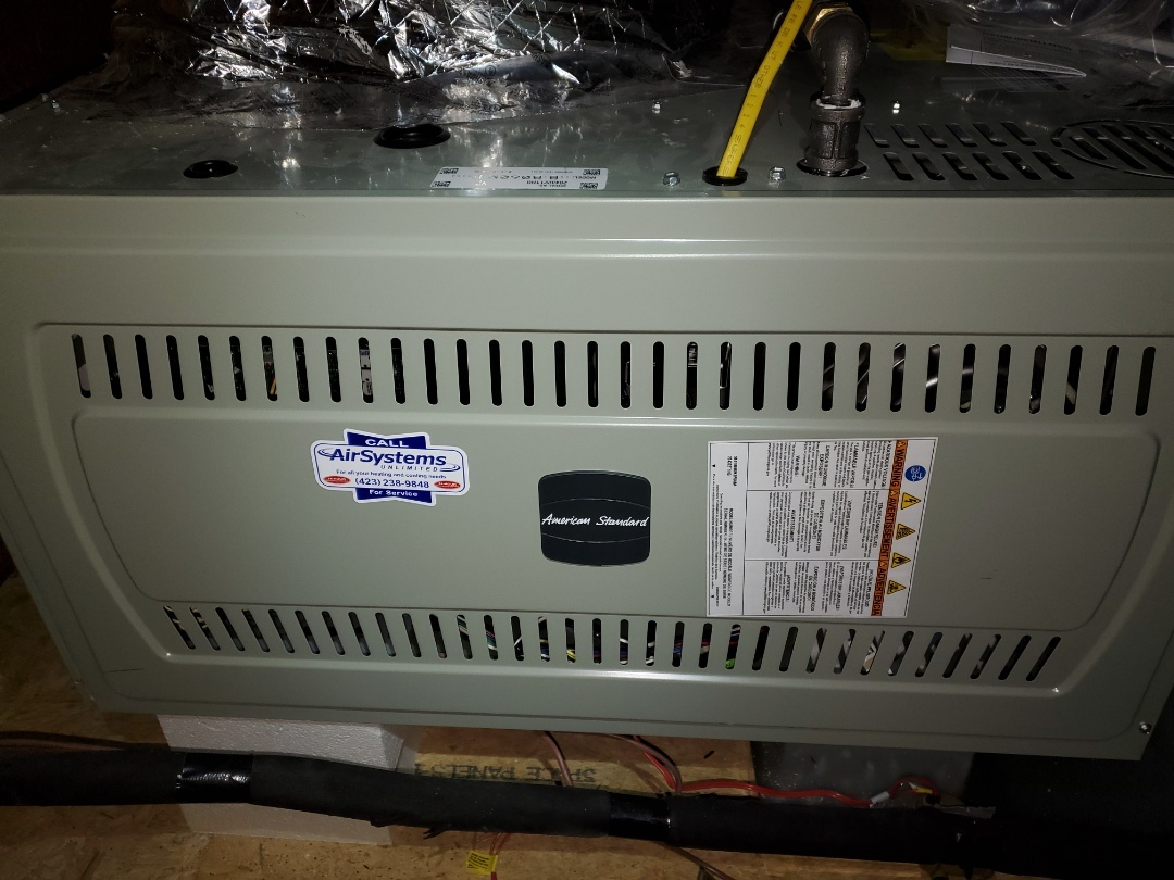 Chattanooga, TN - Service call.  Performed repair on American Standard furnace.