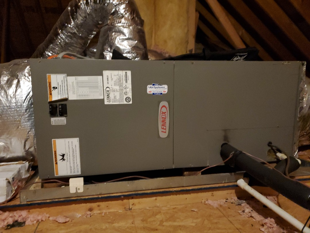 Chattanooga, TN - Service call. Performed service call on Lennox air handler.
