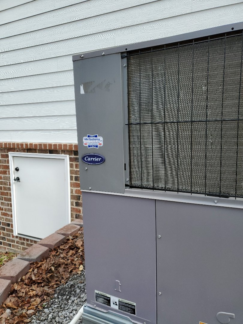 Harrison, TN - Service call. Performed repair on Carrier furnace.