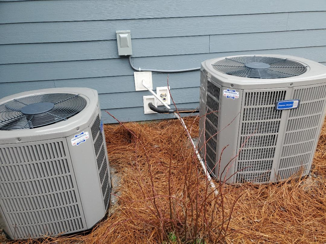 Apison, TN - Service call. Performed repair on American Standard ac.