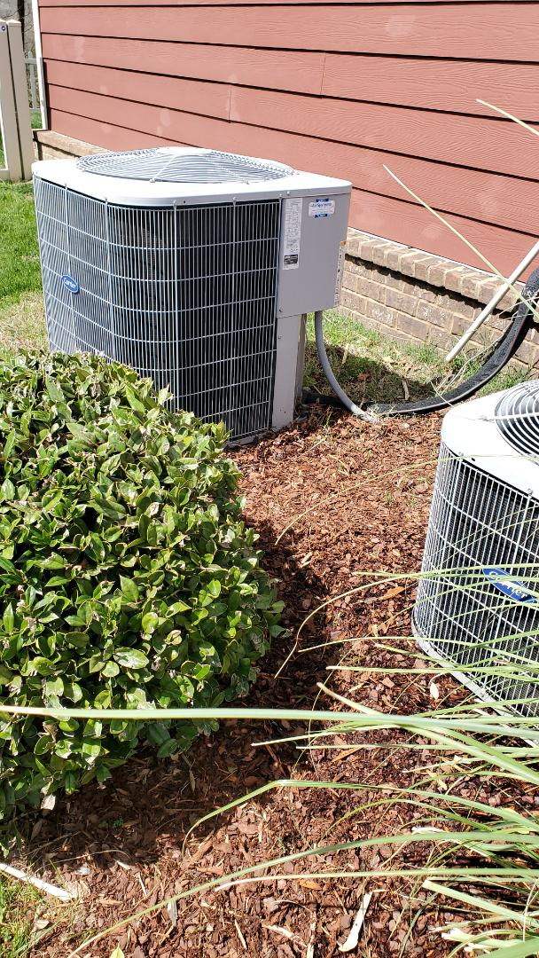 Chattanooga, TN - Maintenance call. Performed maintenance on Carrier AC units.