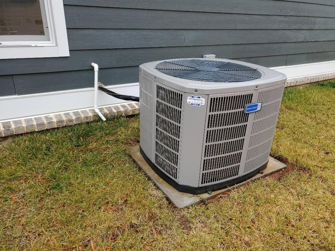 Chattanooga, TN - Service call. Performed repair on American Standard AC unit.