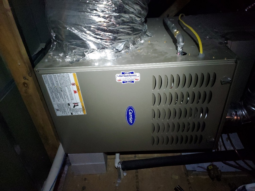 Service call. Performed repair on Carrier furnace