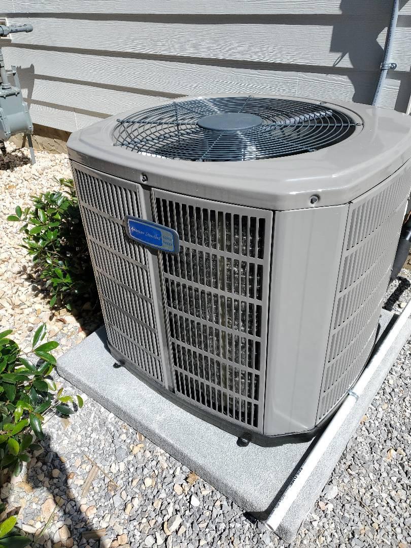 Chattanooga, TN - Service call. Performed repair on American Standard heat pump.