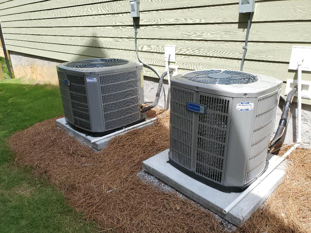 Chattanooga, TN - Service call. Performed repair on American Standard Ac