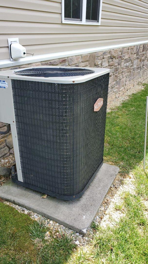Ooltewah, TN - Service call. Performed repair on Nutone heat pump.