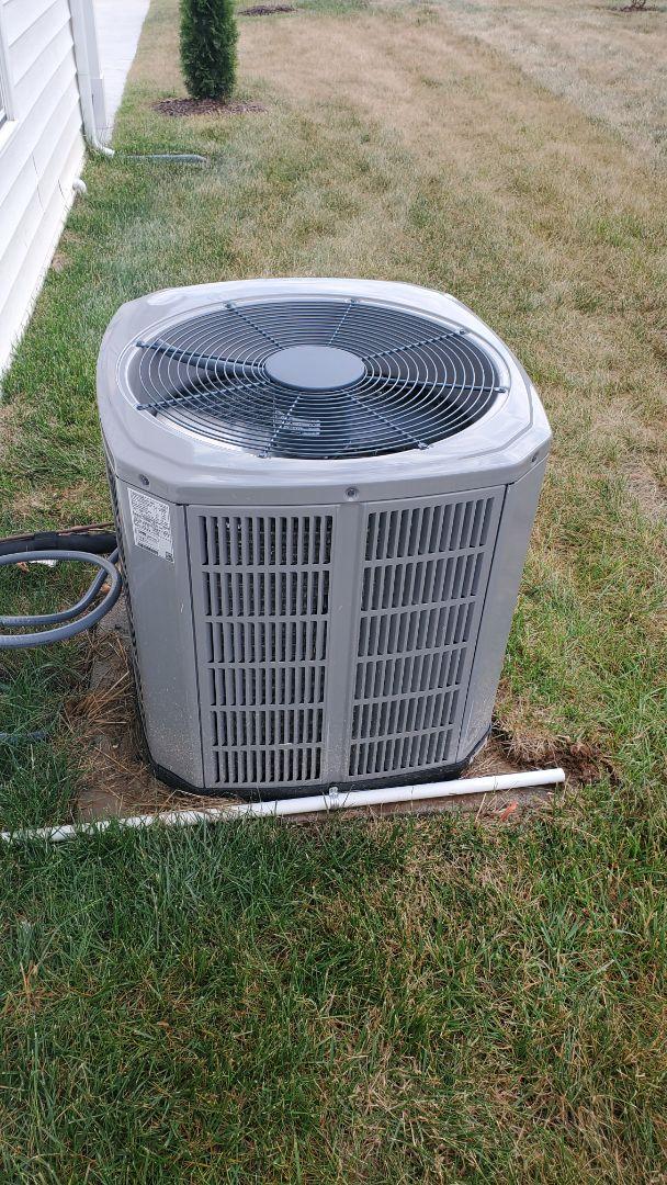 Cleveland, TN - Service call.  Performed repair on American Standard heat pump
