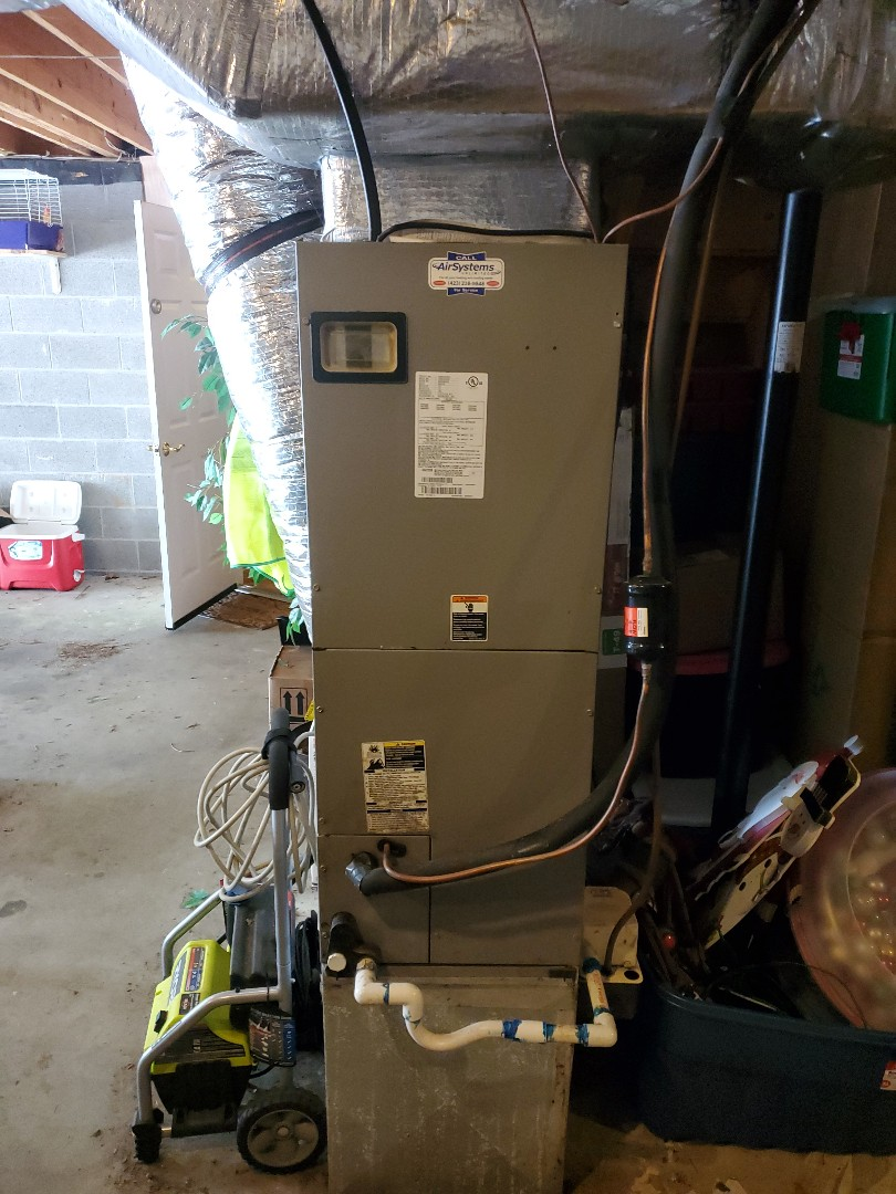 Cleveland, TN - Service call.  Performed maintenance on Trane and Tempstar systems