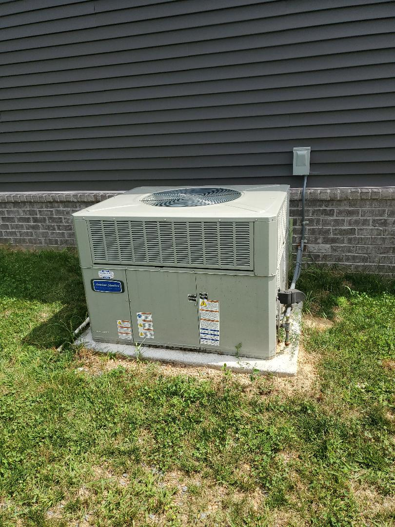 Cleveland, TN - Service call.  Performed repair on American Standard system.