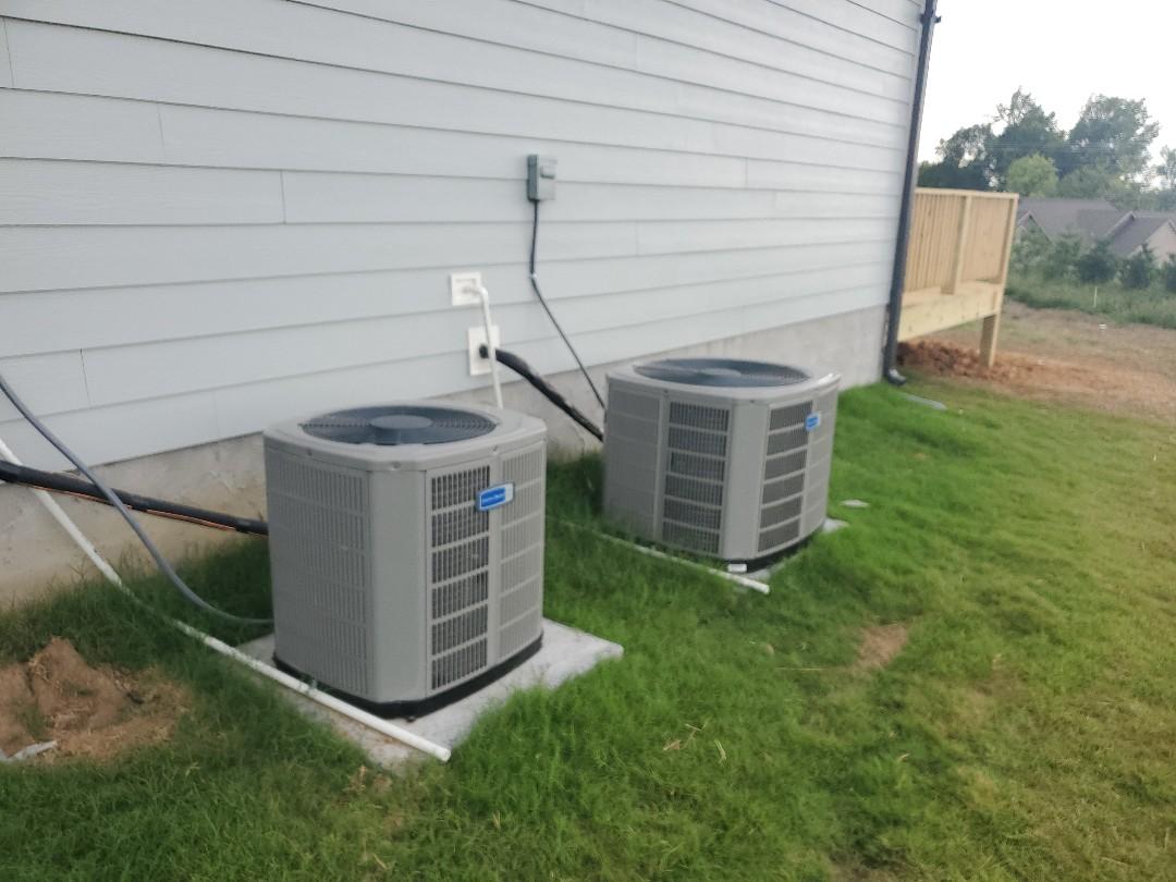 Cleveland, TN - Installation of American Standard air conditioner