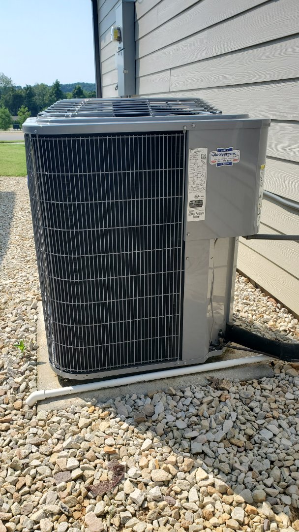 Cleveland, TN - AC service call. Performed repair on Carrier unit