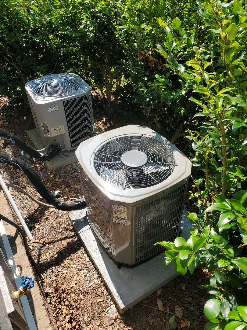 Chattanooga, TN - Installation. Performed install of American Standard air conditioner and furnace.