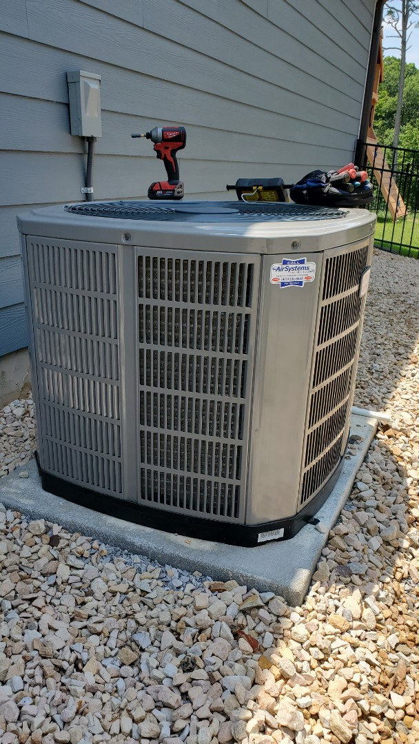Apison, TN - AC service call. Performed service on American Standard unit