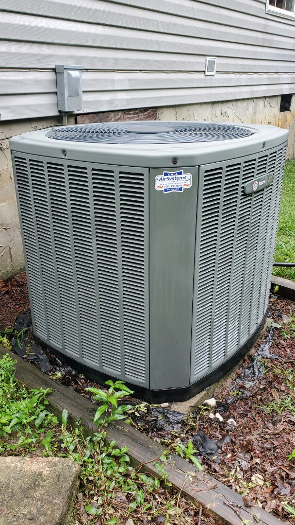 Cleveland, TN - AC maintenance call. Performed service on Trane unit