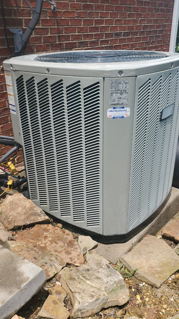 Chattanooga, TN - AC service call. Performed repair on American Standard unit