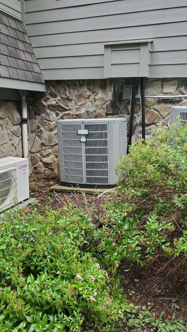 Harrison, TN - AC service call. Performed service on American Standard unit
