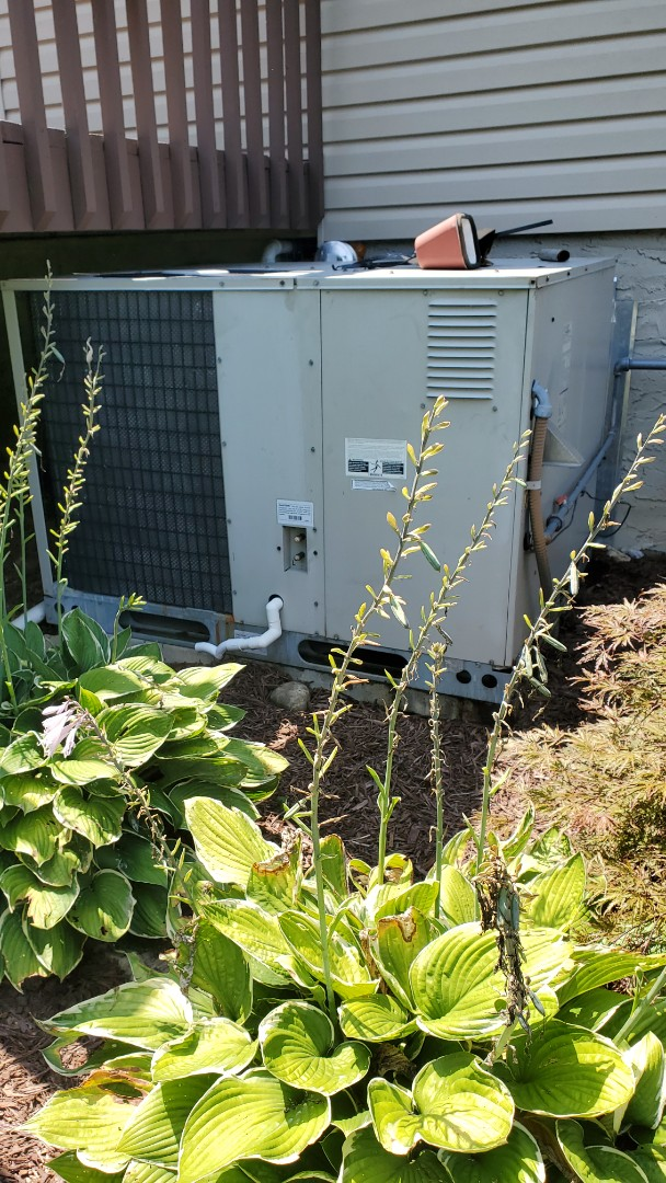 Chattanooga, TN - AC service call. Performed repair on Nordyne unit