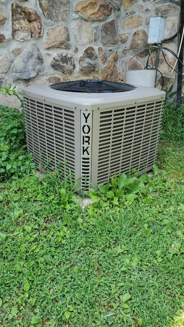 Cleveland, TN - AC service call. Performed repair on York unit