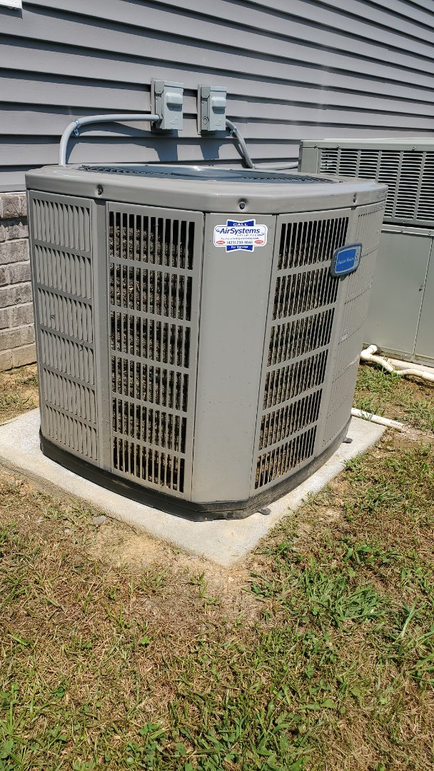 Cleveland, TN - AC warranty service call. Performed repair on American Standard unit