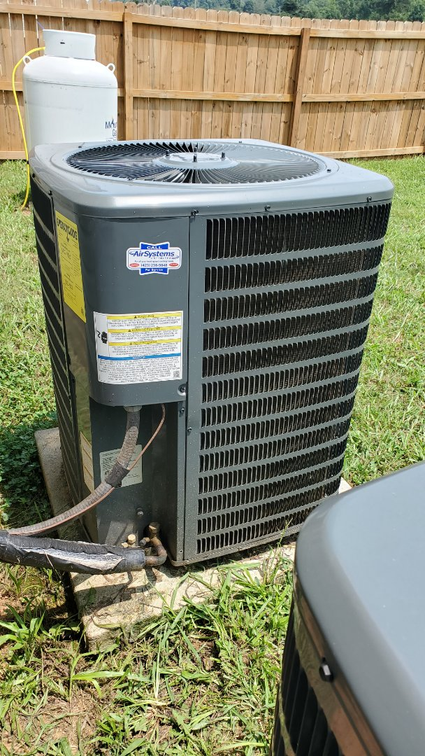 Cleveland, TN - AC service call. Performed repair on Goodman unit