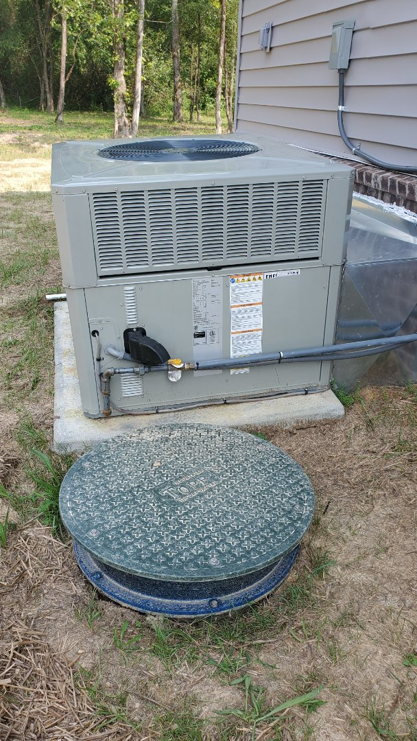 Cleveland, TN - AC service call. Performed repair on American Standard unit