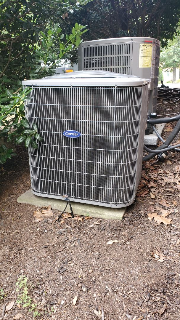 Chattanooga, TN - AC service call. Performed repair on Carrier system