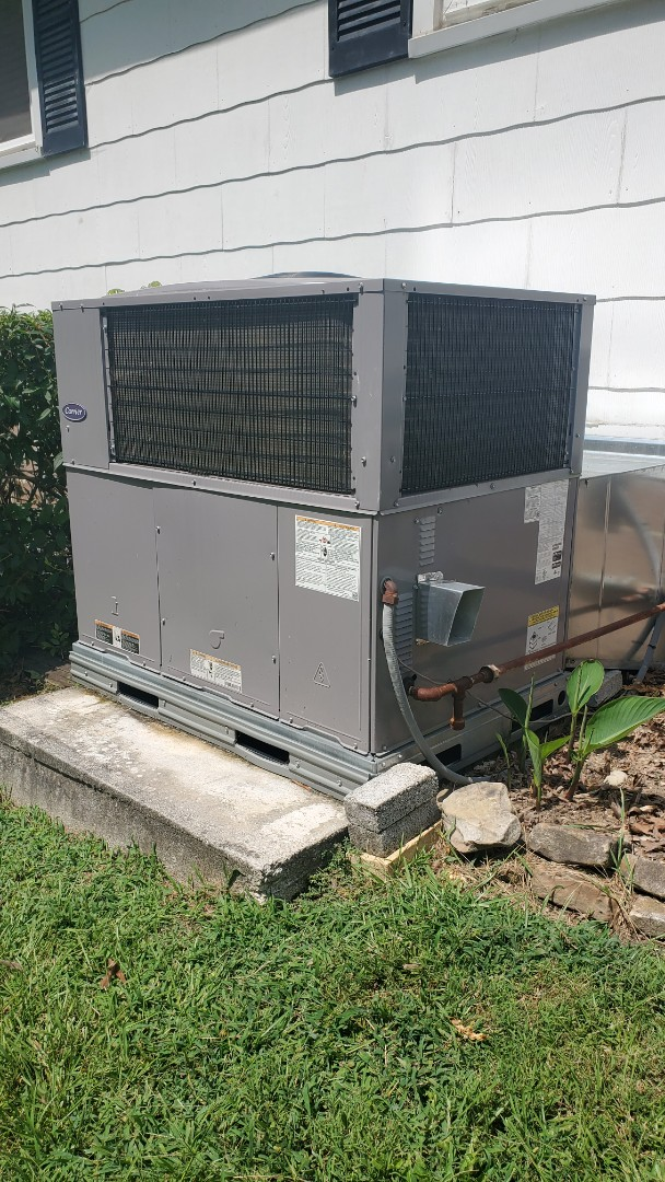 Soddy-Daisy, TN - AC inspection. Performed service on Carrier and Tempstar units