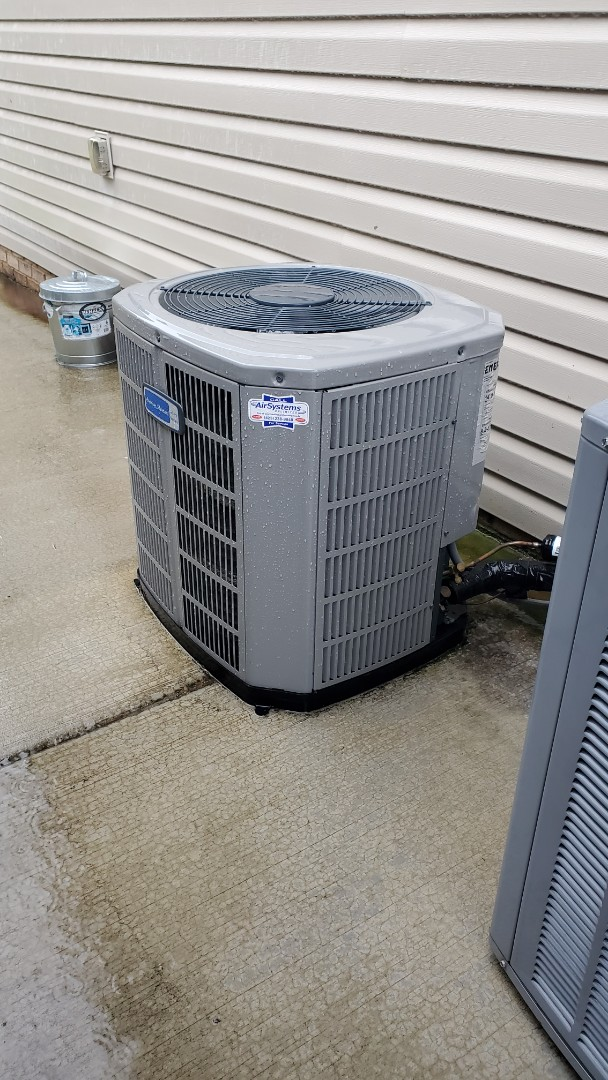 Cleveland, TN - AC maintenance call. Performed service on AirEase and American Standard units