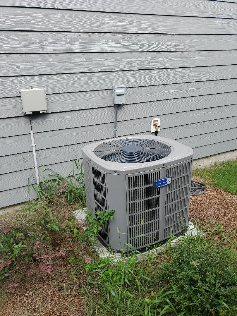Cleveland, TN - Service call.  Performed repair on American Standard air conditioner.