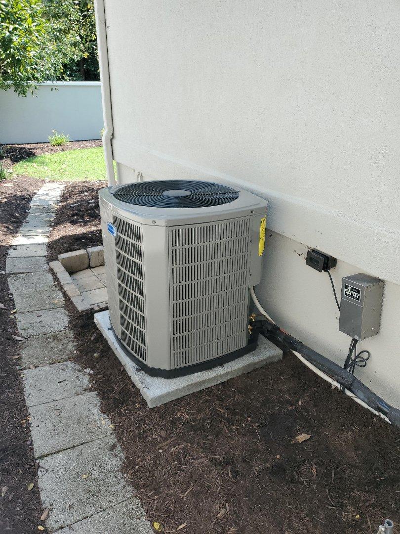 Cleveland, TN - Installation. Installed new American Standard Hvac system.