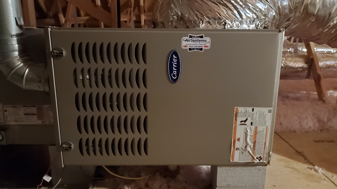 Cleveland, TN - Fall maintenance. Performed service on Carrier unit