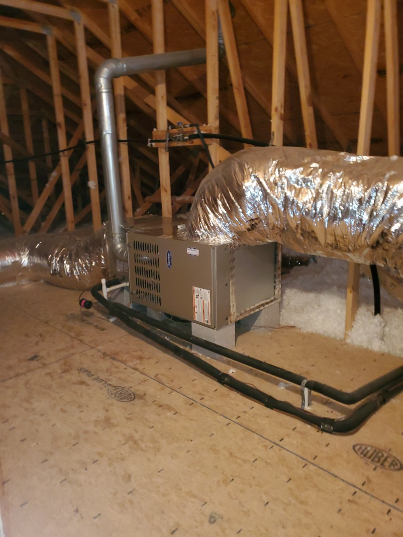 Ooltewah, TN - Indoor air quality. Installed whole home air purification system.