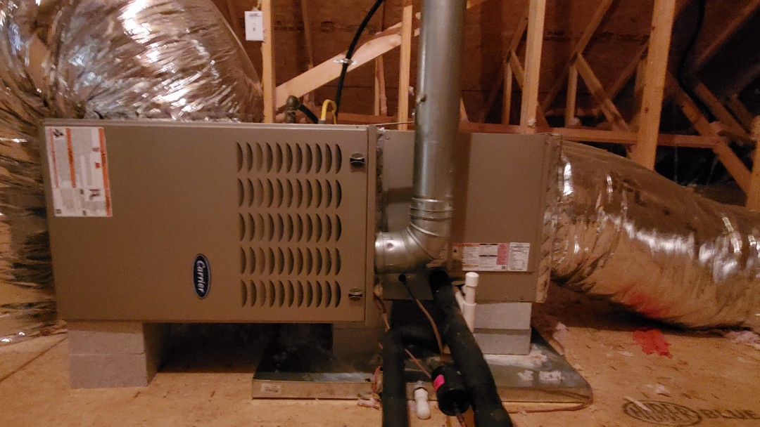 Cleveland, TN - Fall maintenance. Performed service on Carrier gas furnace