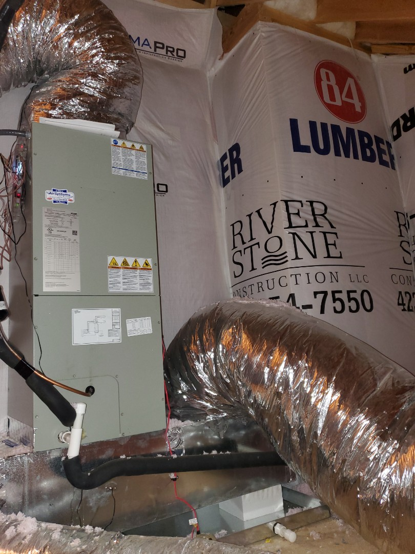 Cleveland, TN - Service call.  Performed repair on American Standard heat pump system