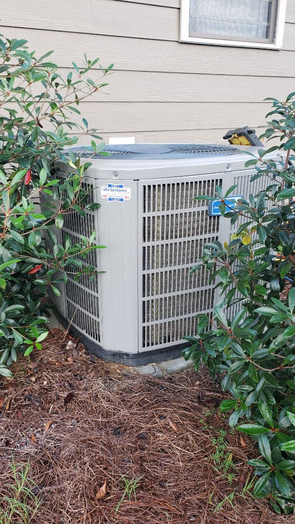 Soddy-Daisy, TN - AC service call. Performed repair on American Standard system