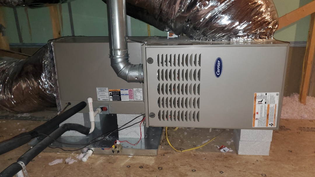 Ooltewah, TN - Fall maintenance. Performed service on Carrier gas furnace